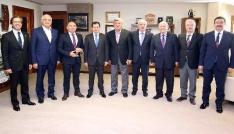 Karaosmanoğlu, Sanayi, Ticaret ve Enerji komisyonunu ağırladı