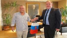 Rusya Antalya Başkonsolosu Bodrum Belediyesini ziyaret etti