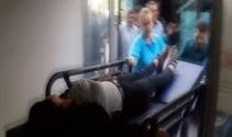 Bayılan genç kızın halk otobüsüyle hastaneye yetiştirilmesi anbean böyle görüntülendi
