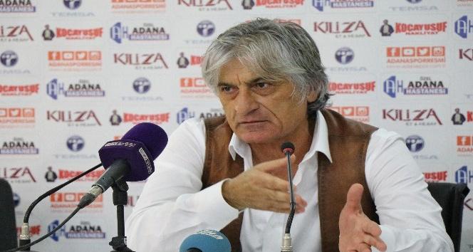 """Kılıç: """"Adanaspor en verimli oyununu oynadı"""""""