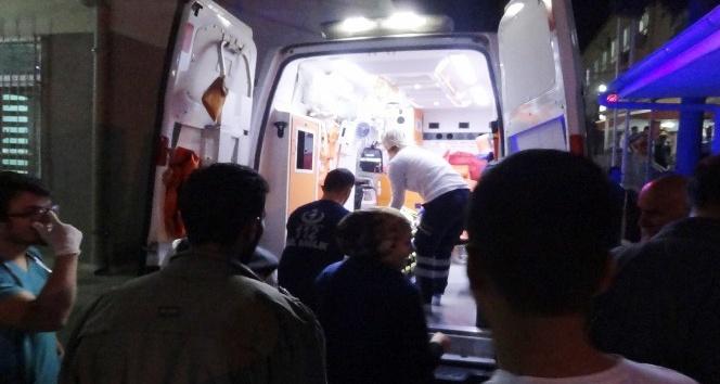 3. kattan düşen çocuk yaralandı