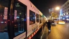 Beyazıt tramvay hattında katener teli koptu, seferler aksadı