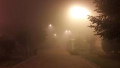İstanbulda gece boyunca sis etkili oldu