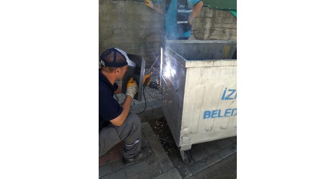 İzmitte çöp konteynerleri yenileniyor