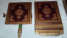 Türkiyeden kaçırılan Mustafa Dedenin tarihi Kuran-ı Kerimi İngilterede satışa çıktı