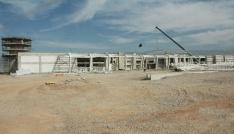Kahramanmaraşta yeni havaalanı inşaatı hızla yükseliyor