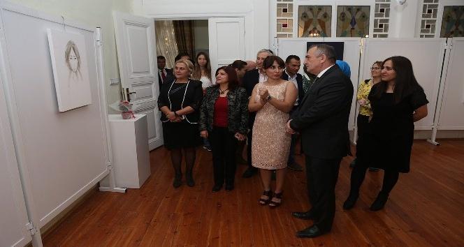 Bolu'da, dijital illüstrasyon sergisi açıldı