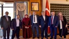 Başkan Akyürek: Filistinli insanlarımızın davasının yanındayız