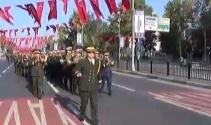 Cumhuriyet Bayramı askeri tören provası yapıldı