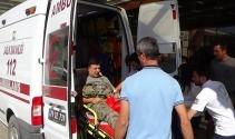 Sınırda Zırhlı araç devrildi; 8 asker yaralandı