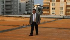 Atakumda dev kompleks inşaatı hızla sürüyor