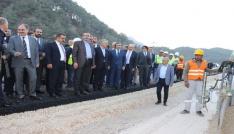 Bakan Arslan, Kahramanmaraşta yatırımları inceledi
