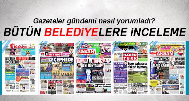 24 Ekim 2017 gazeteler