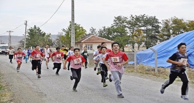 Sungurlu'da kros yarışları nefes kesti