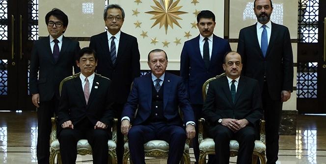 Cumhurbaşkanı Erdoğan, Japonya Büyükelçisini kabul etti