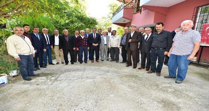 Başkan Gürkan asfalt çalışmasını yerinde inceledi