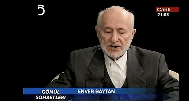 İlahiyatçı Enver Baytan Hocanın hayatı kitaplaştırıldı