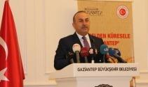Çavuşoğlu 'Yerelden Küresele Gaziantep' konulu toplantıya katıldı