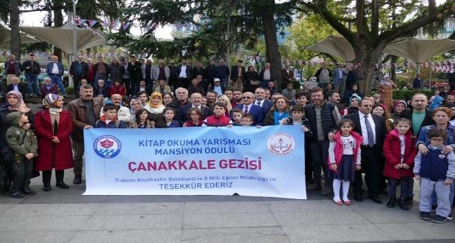 Çok kitap okuyan öğrenciler Çanakkale Gezisi ile ödüllendirildi