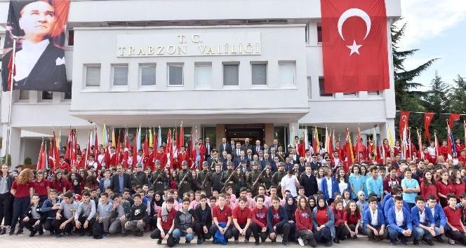 Trabzon'da 29 Ekim Cumhuriyet Bayramı kutlamaları