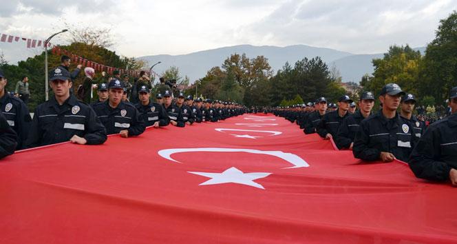 Karabükte Cumhuriyet yürüyüşü