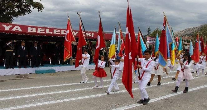 Amasyalılar 29 Ekim Cumhuriyet Bayramı'nı kutladı
