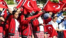 Osmaniyede Cumhuriyet Bayramı kutlandı