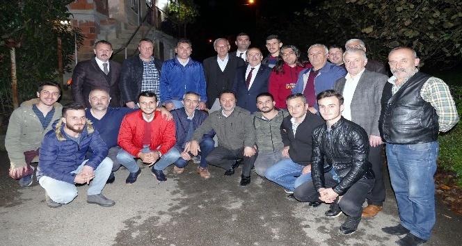 Başkan Gümrükçüoğlu, mesai arkadaşlarıyla bir araya geldi