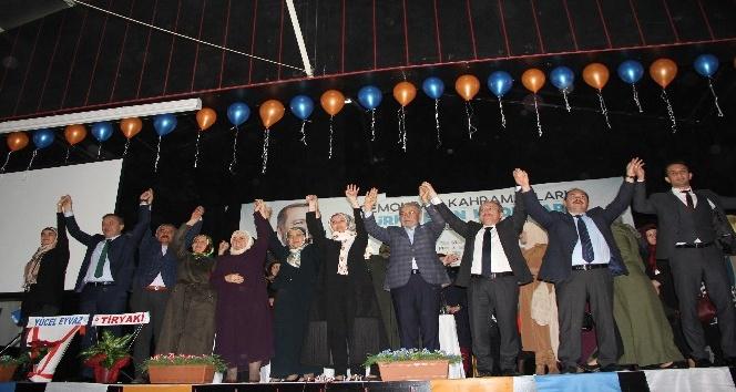 AK Parti'de Aysema Arklan güven tazeledi