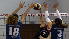 Voleybol Bayanlar 1. Lig: Gümüşhane Bld. Gençlerbirliği: 2 - Samsun BŞB Anakent : 3