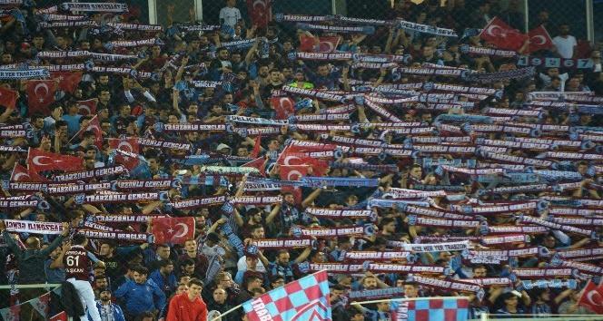 Süper Lig: Trabzonspor: 0 - Galatasaray:0 (İlk yarı)
