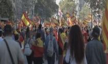 İspanya'da birlik yanlıların gösterisi sona erdi