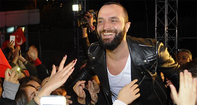 Berkay, Maltepelilere Cumhuriyet Bayramı coşkusu yaşattı
