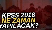 KPSS 2018 ne zaman? 2018 KPSS Lise, Önlisans, Lisans, memurluk sınavı ne zaman?