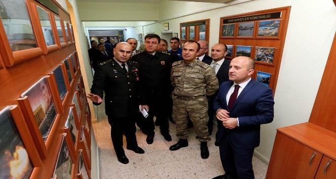 Askerlik şubesine tanıtım odası