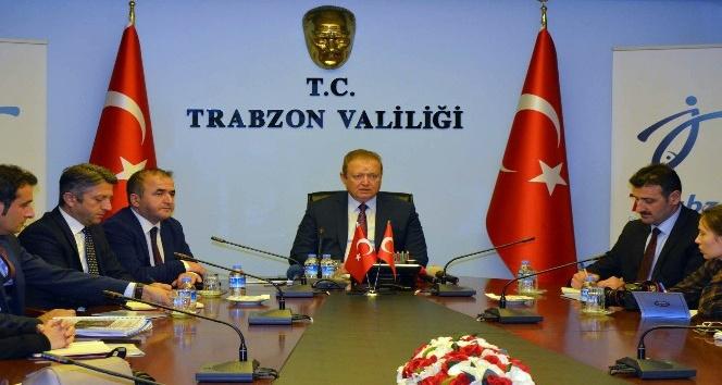 Trabzon Valisi Yücel Yavuz Sümela Manastırındaki çalışmaları değerlendirdi