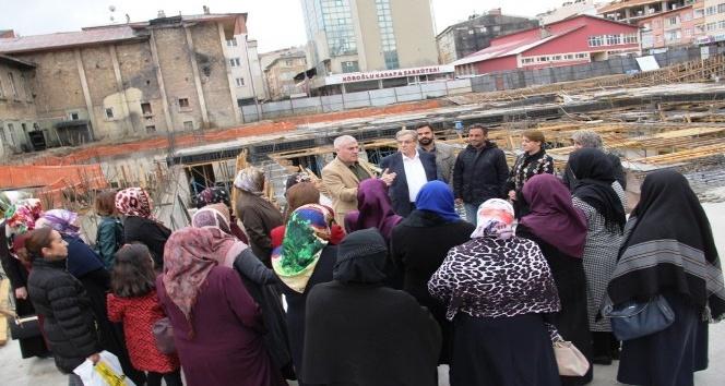 Bayburtlu Kadınlar Belediye projelerini yerinde inceledi