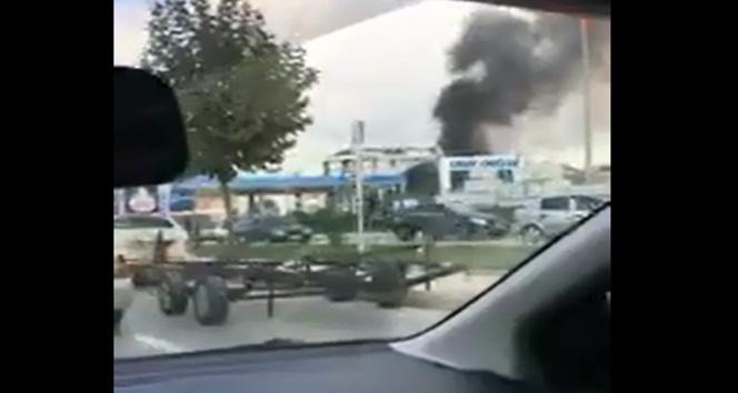 Tuzlada alev alan yakın tankeri patladı: 3 yaralı