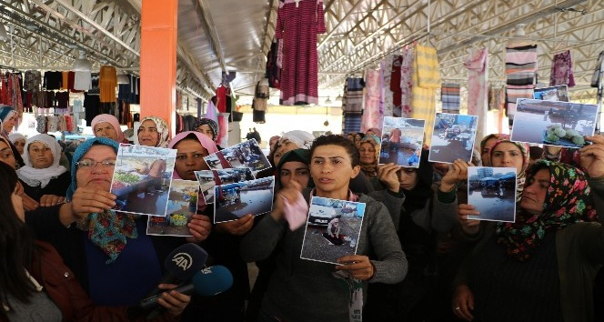 Diyarbakır'da pazarcı kadınlardan rant iddiası