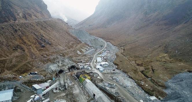 Ovit Tüneli'nde tek tüpten geçişlerin yıl sonunda başlaması bekleniyor