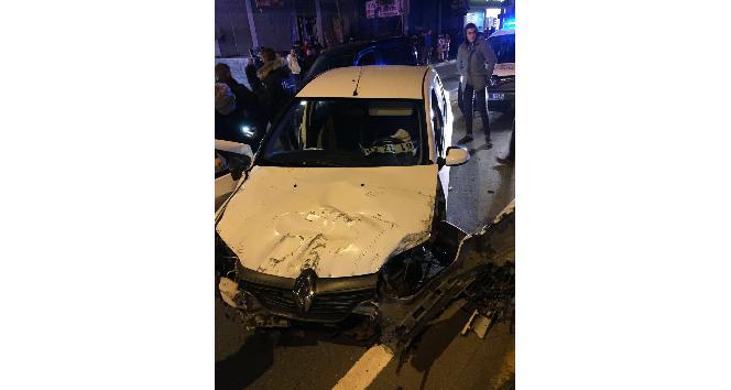 Trabzon'da trafik kazası: 2 ölü