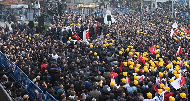 Madencilerden torba yasa tepkisi |Zonguldak haberleri