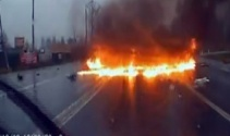 Rusya'da korkunç trafik kazası!