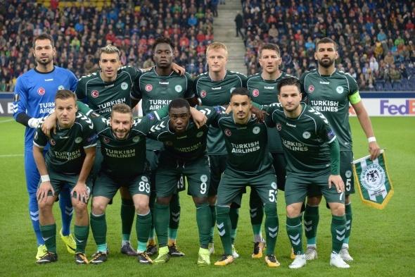 Salzburg Konyaspor maçından kareler
