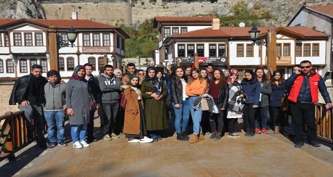 Üniversiteli gençlerden Amasya tarihine yolculuk