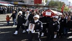 Şehit Polis memuru Olgun Gülay için Gümüşhanede resmi tören düzenlendi