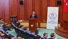 Osmaniyede okul sporları değerlendirme toplantısı
