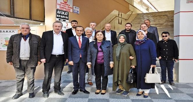 Milletvekili Kurt Sungurlu'da incelemelerde bulundu