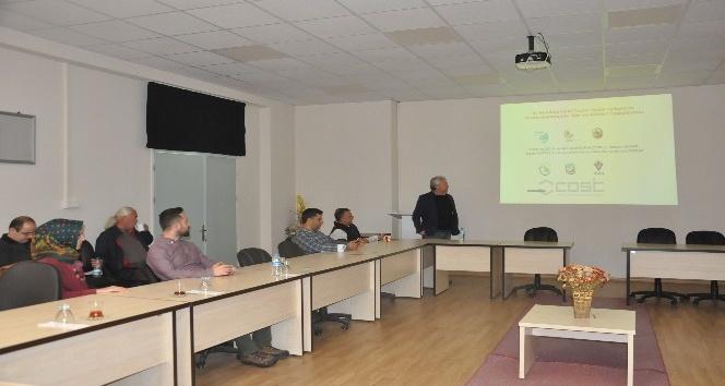 İç Anadolu'nun kurak sahalarında ağaçlandırma çalışmaları anlatıldı
