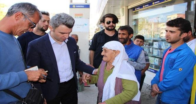 Kaymakam ve belediye başkanı Yazıcı'dan örnek davranış